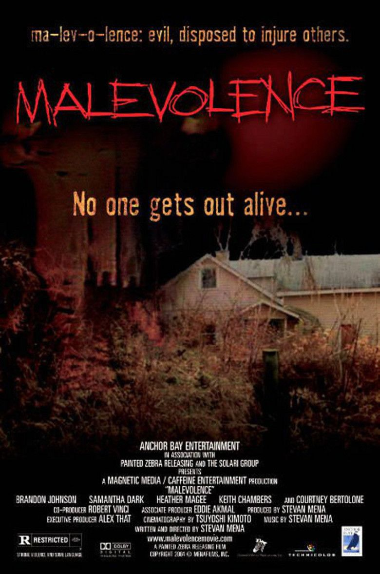 Malevolence (film) movie poster