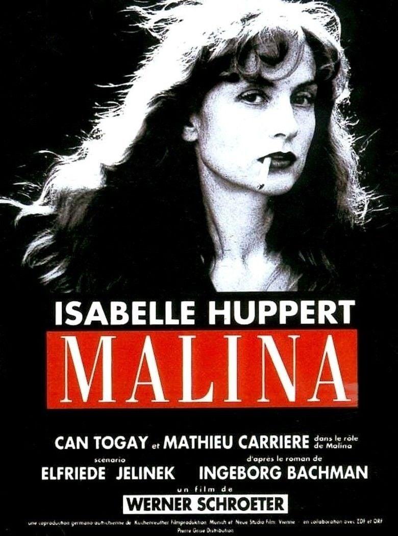 Malina (film) movie poster