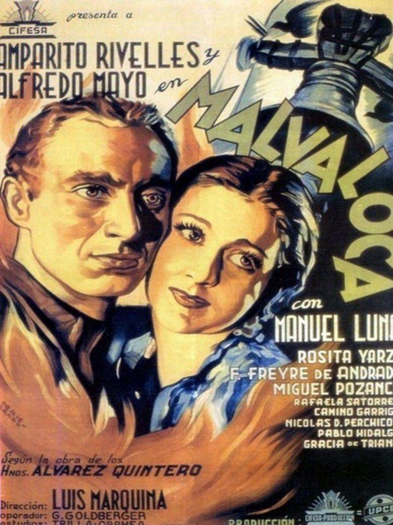 Malvaloca (1942 film) movie poster