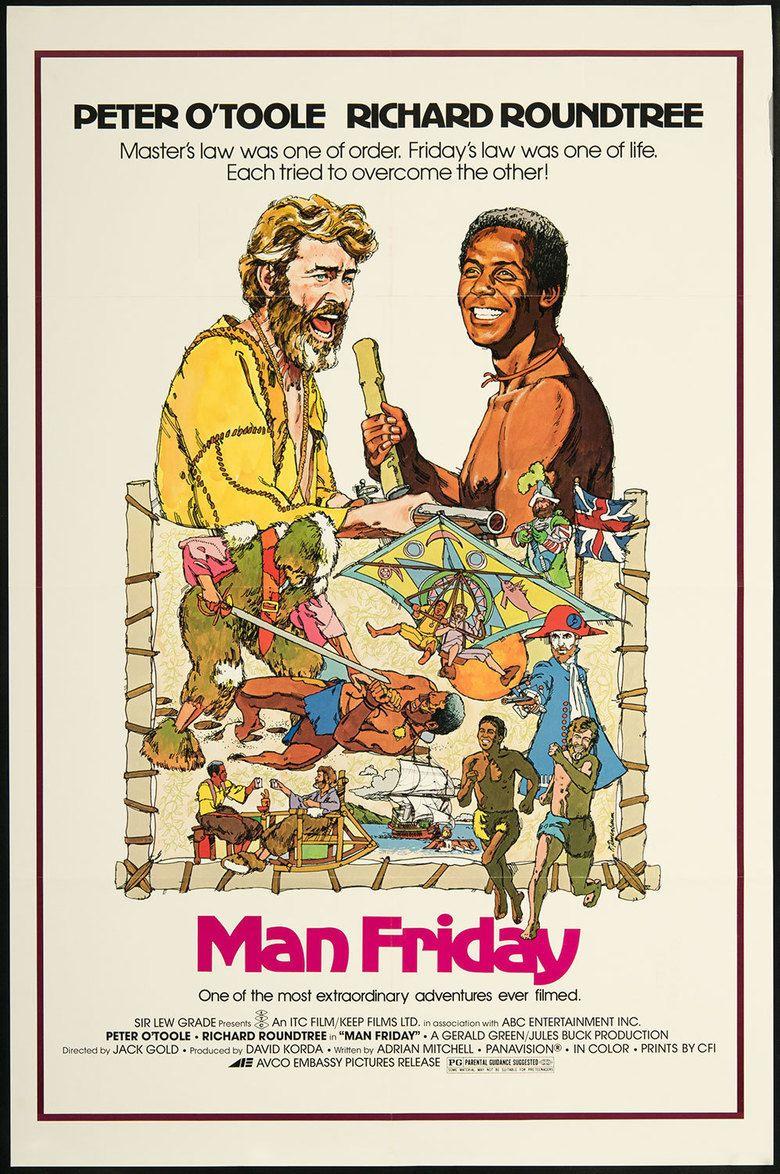 Man Friday (1975 film) movie poster
