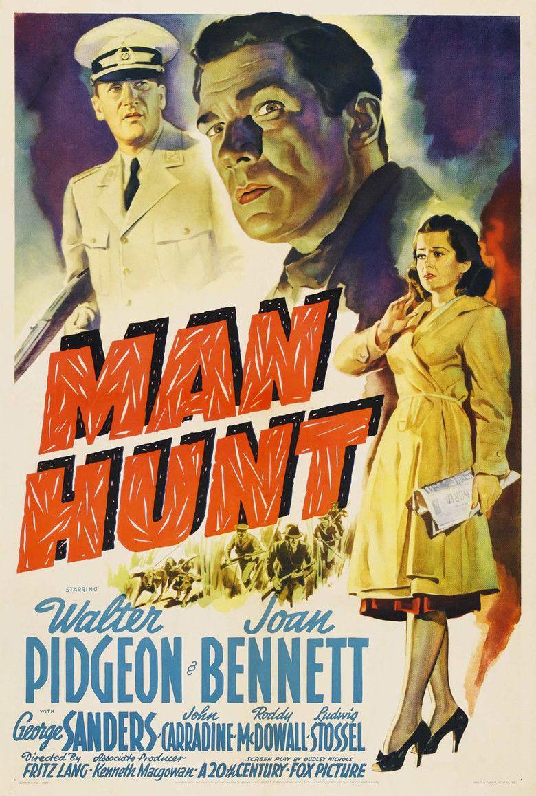 Man Hunt (1941 film) movie poster