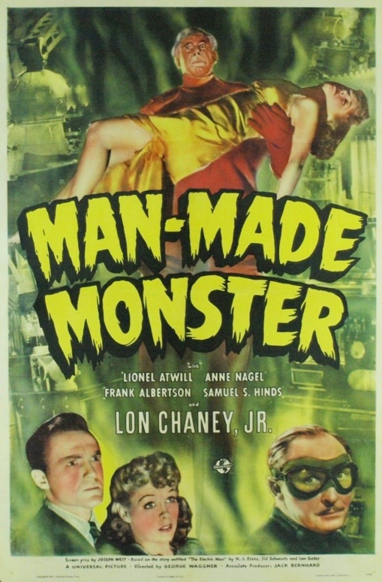 Man Made Monster movie poster