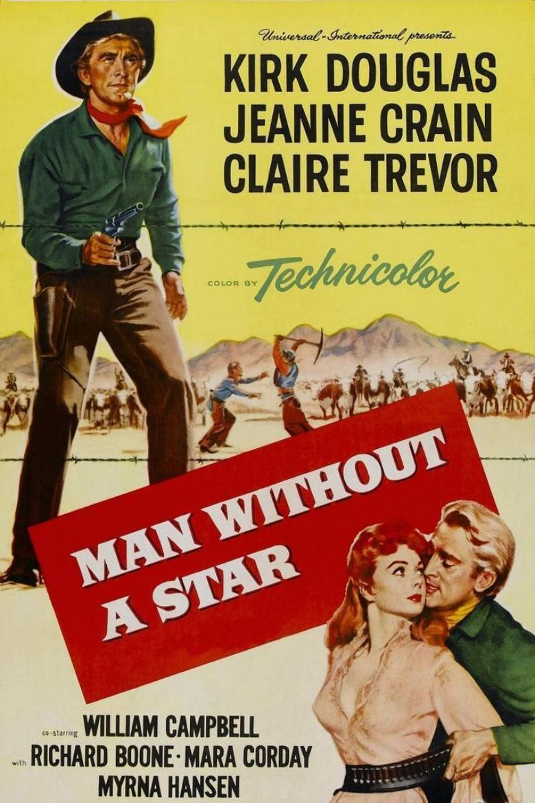 Man Without a Star movie poster