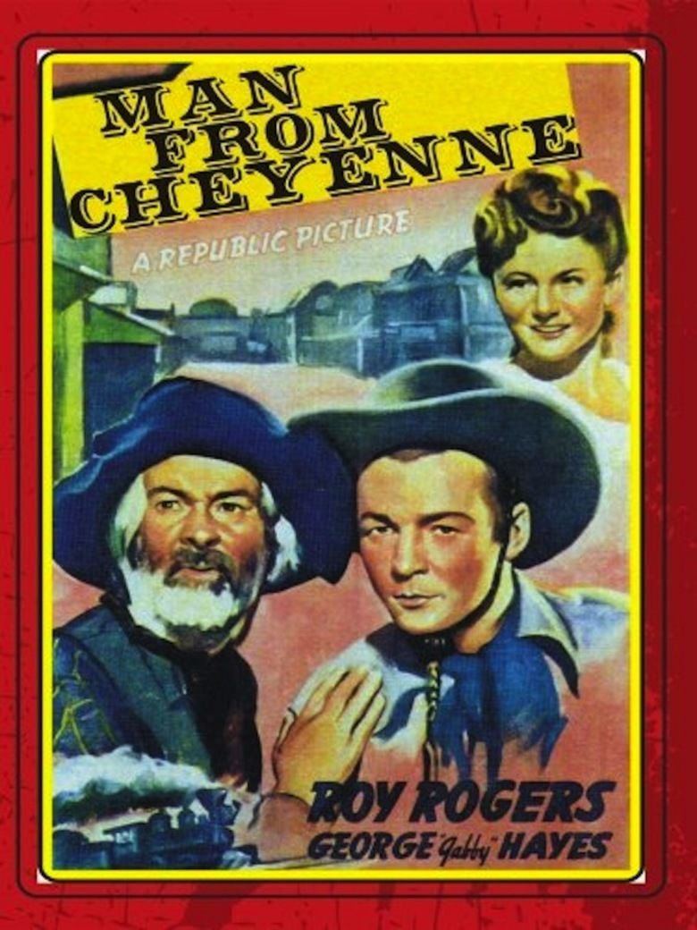 Man from Cheyenne movie poster