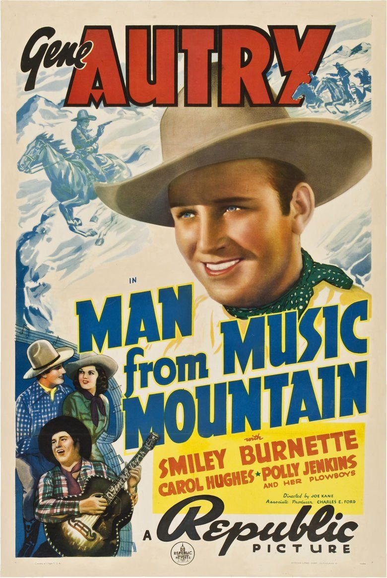 Man from Music Mountain movie poster