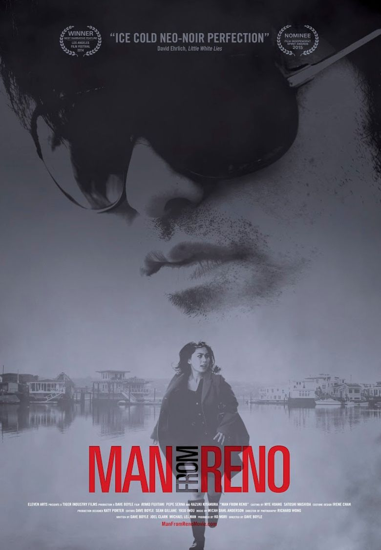 Man from Reno (film) movie poster