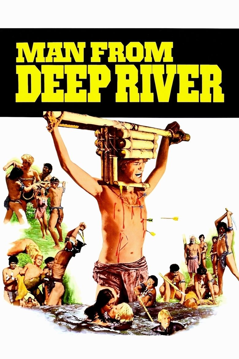 Man from the Deep River movie poster