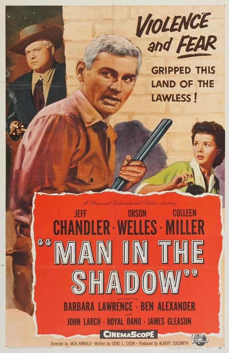Man in the Shadow movie poster