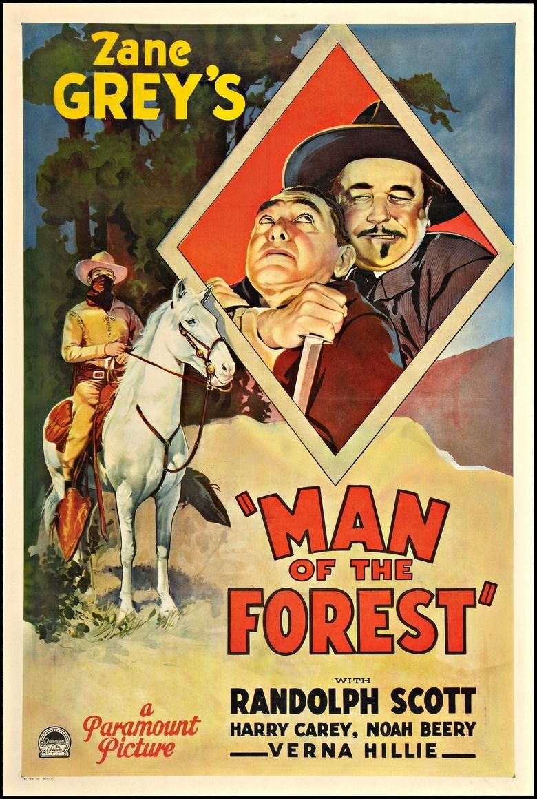 Man of the Forest movie poster