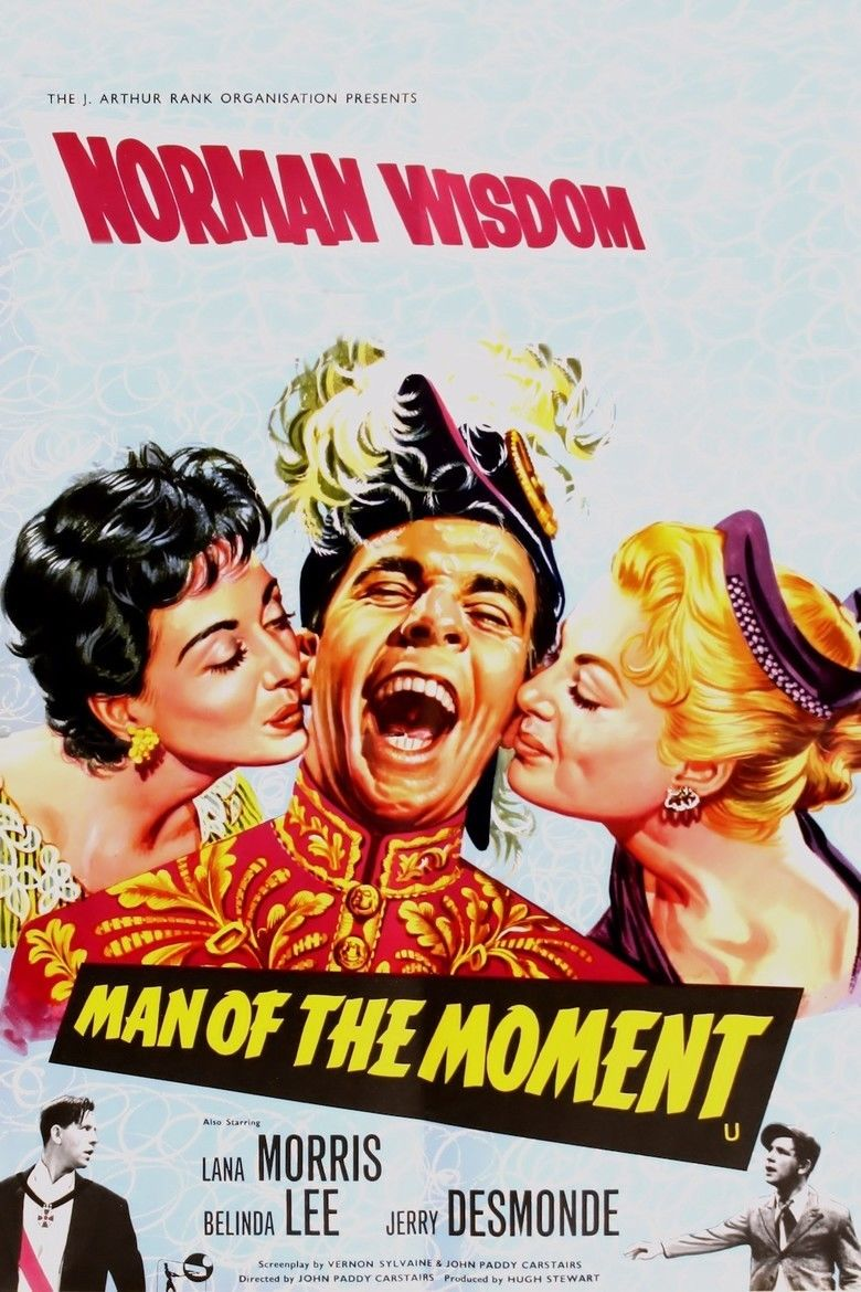 Man of the Moment (1955 film) movie poster