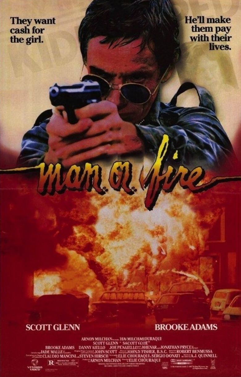 Man on Fire (1987 film) movie poster