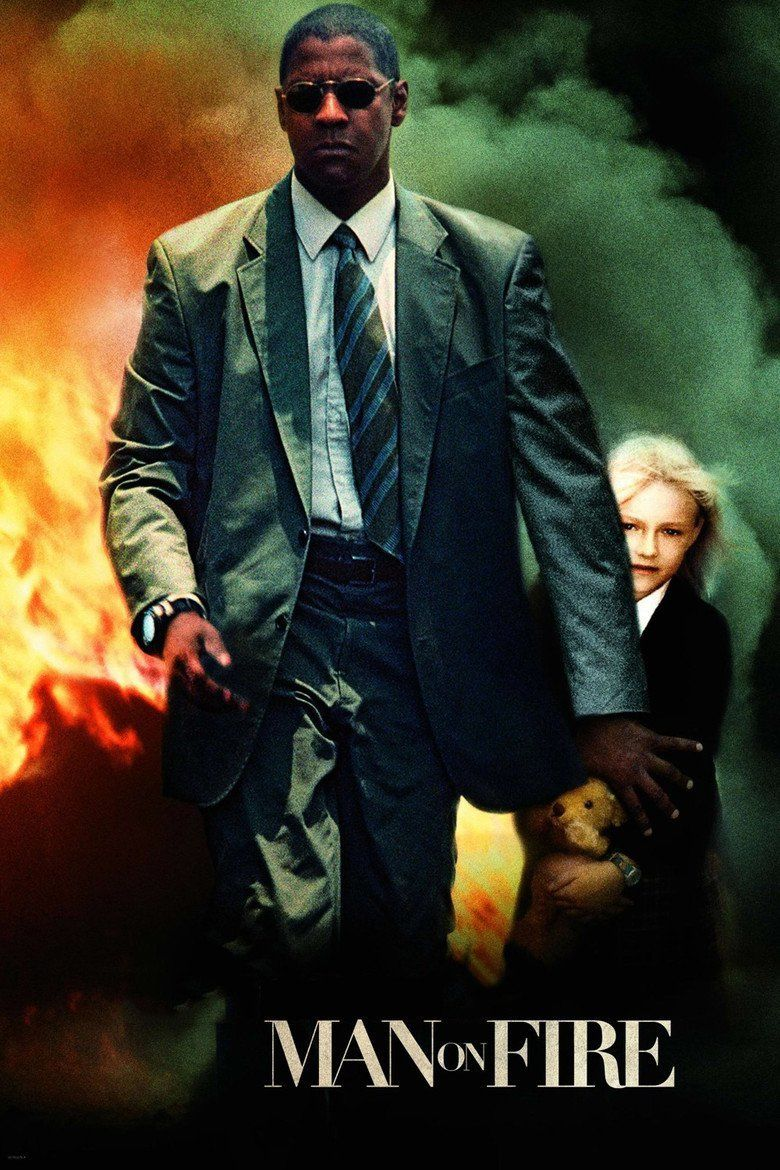 Man on Fire (2004 film) movie poster