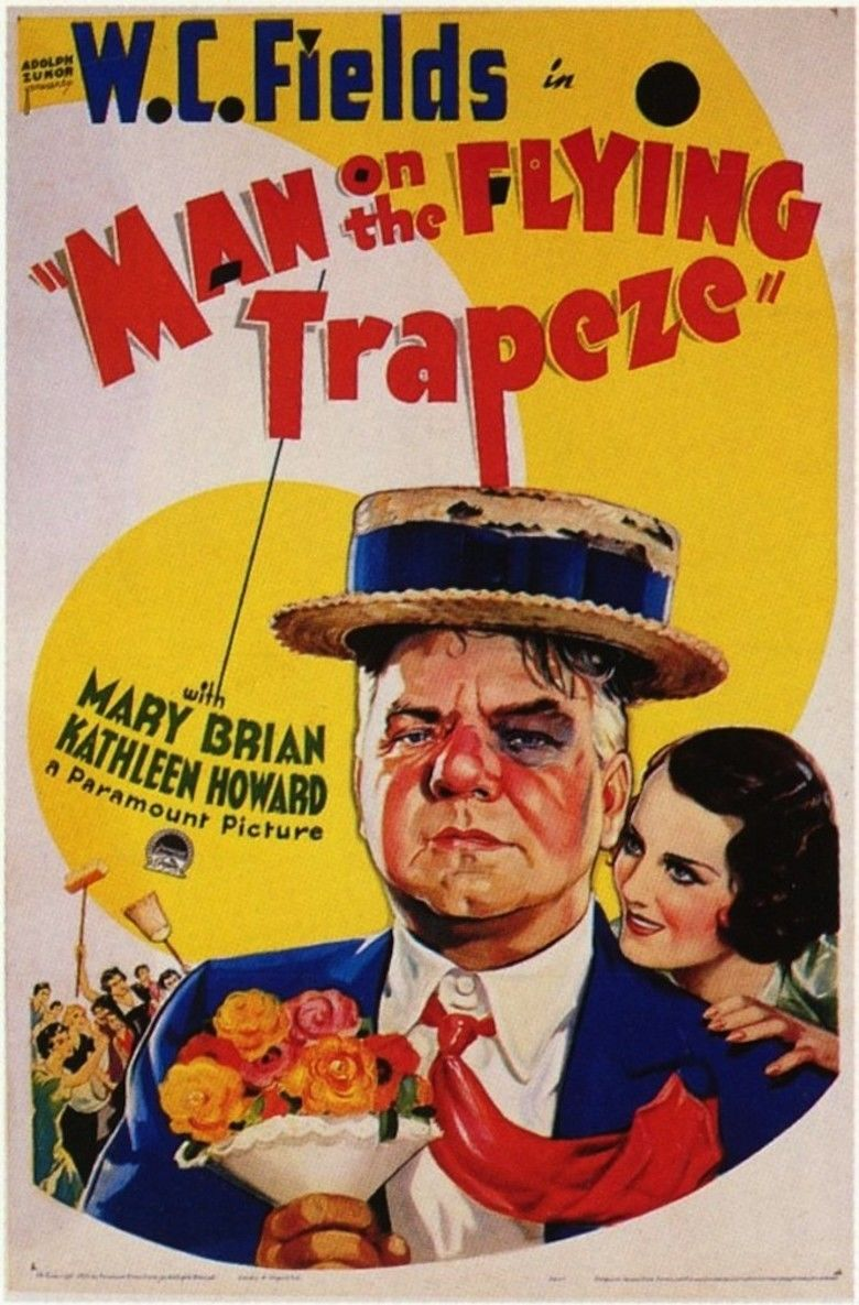 Man on the Flying Trapeze movie poster