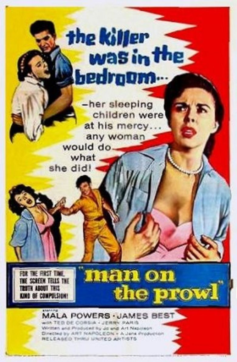 Man on the Prowl (film) movie poster