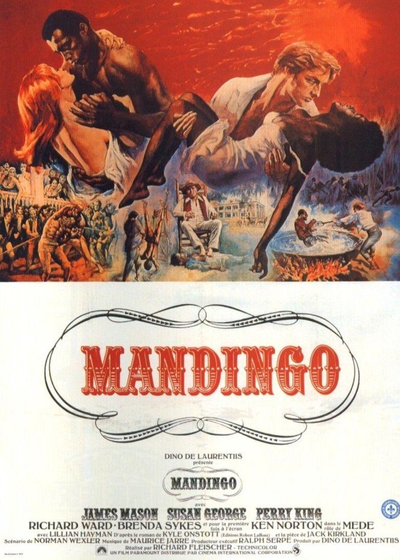 Mandingo (film) movie poster