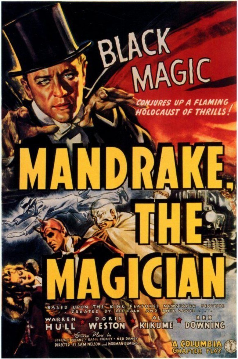 Mandrake the Magician (serial) movie poster