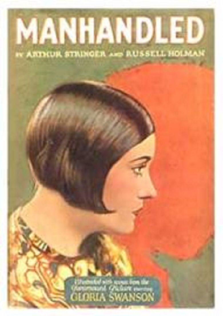 Manhandled (1924 film) movie poster