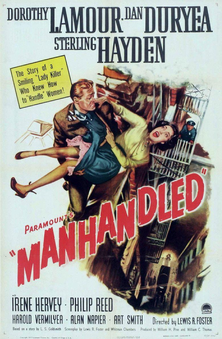 Manhandled movie poster