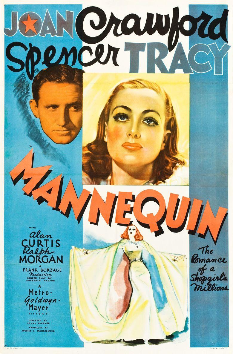 Mannequin (1937 film) movie poster