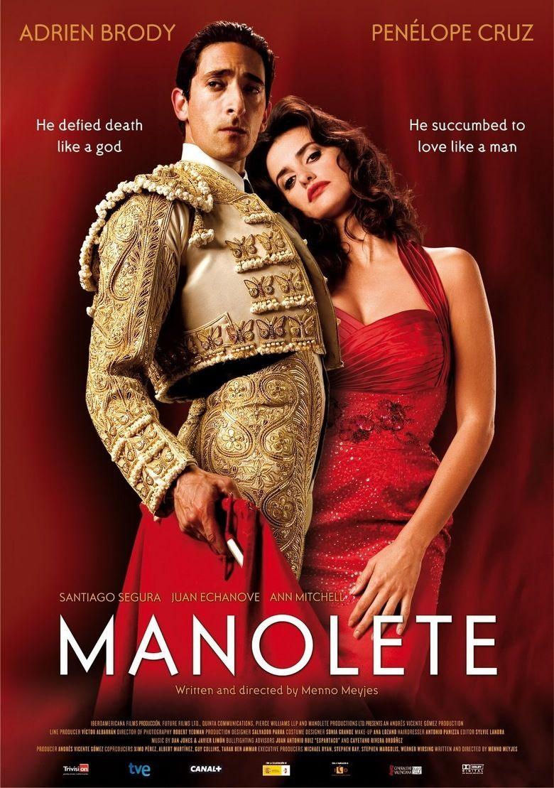 Manolete (film) movie poster