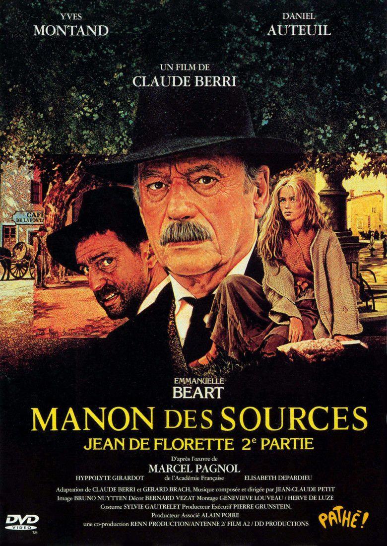 Manon des Sources (1986 film) movie poster