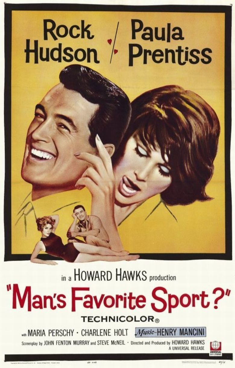 Mans Favorite Sport movie poster