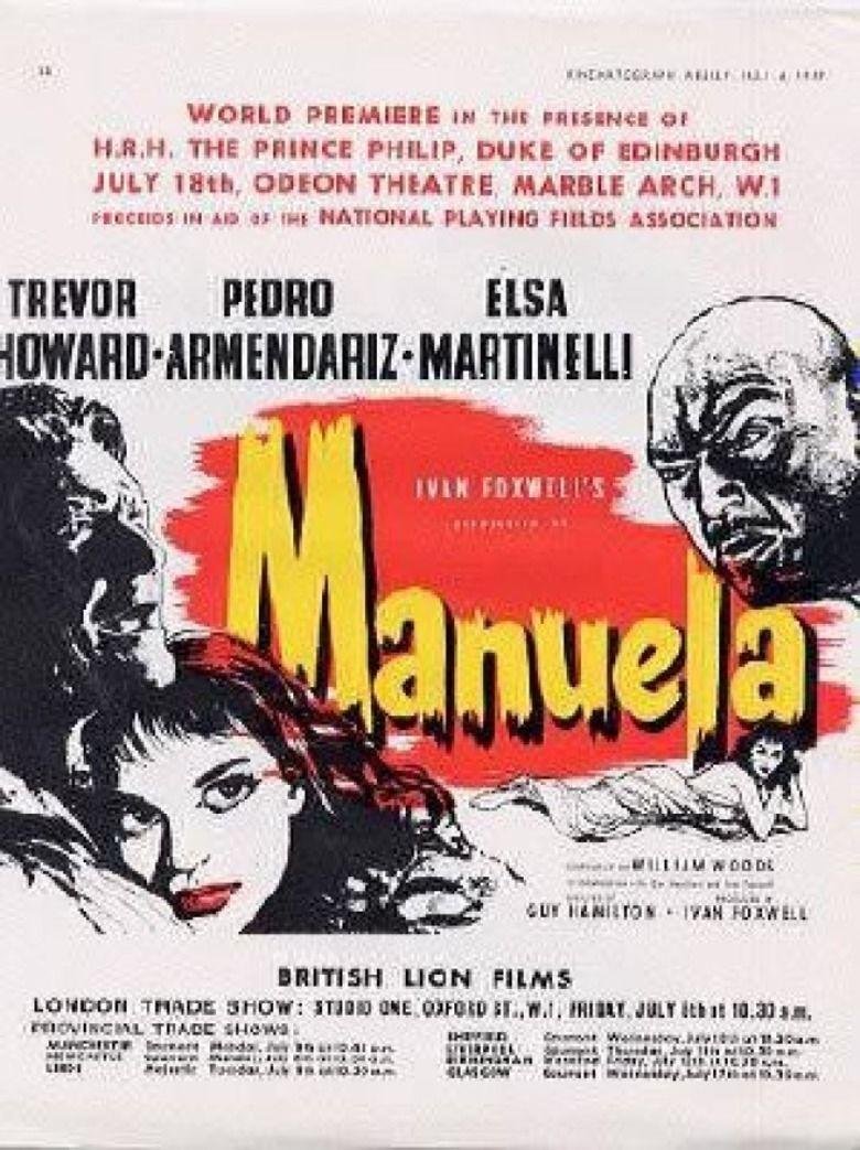 Manuela (1957 film) movie poster