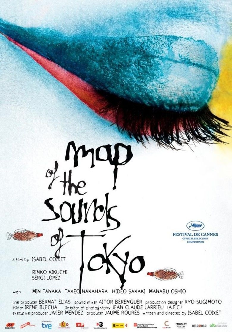 Map of the Sounds of Tokyo movie poster