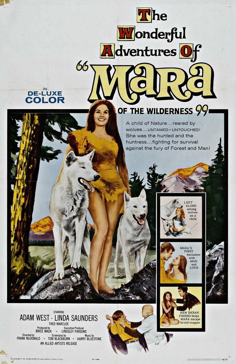 Mara of the Wilderness movie poster