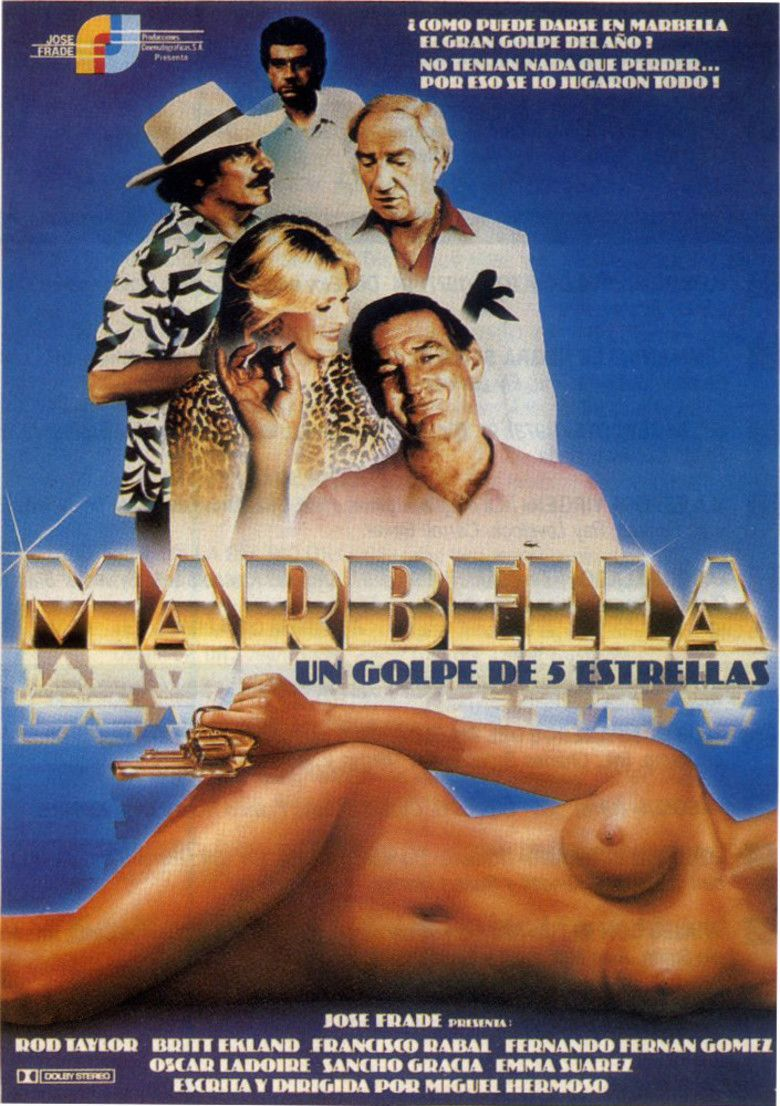 Marbella (film) movie poster