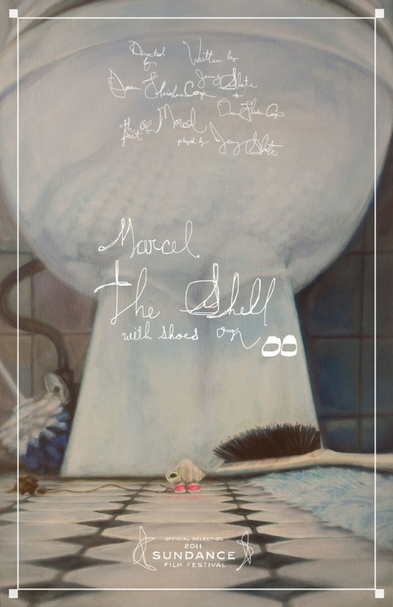Marcel the Shell with Shoes On movie poster