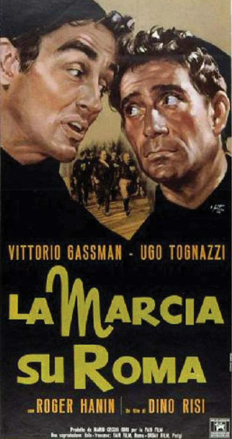 March on Rome (film) movie poster