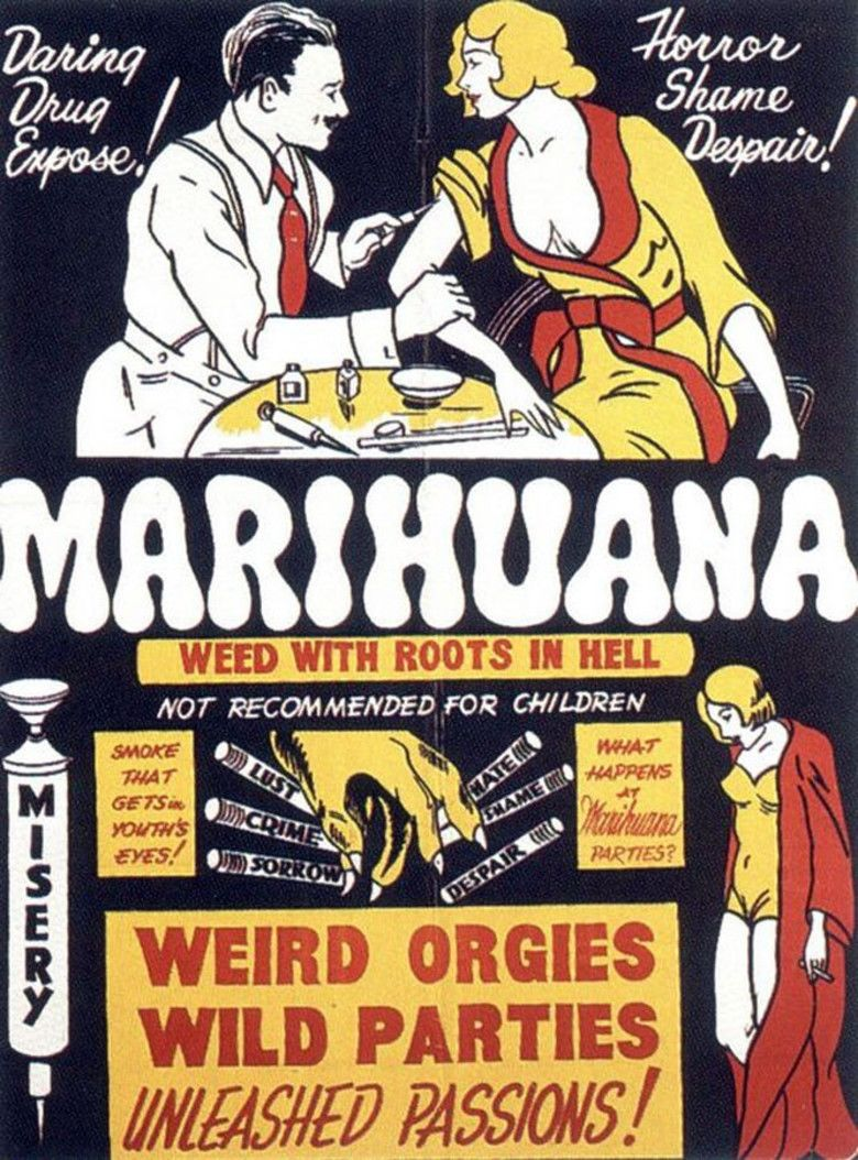 Marihuana (film) movie poster