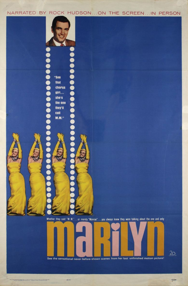 Marilyn (1963 film) movie poster