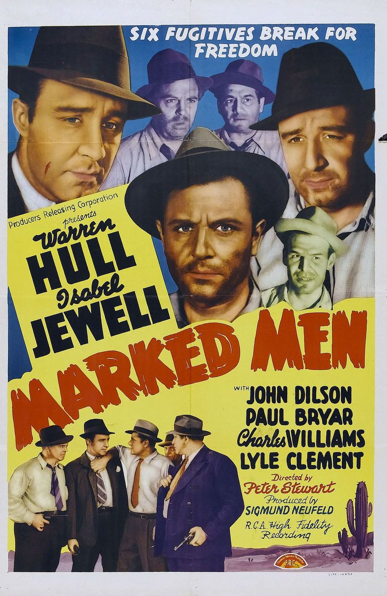 Marked Men (1940 film) movie poster