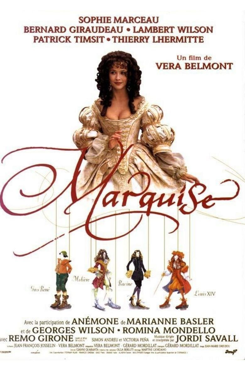 Marquise (film) movie poster
