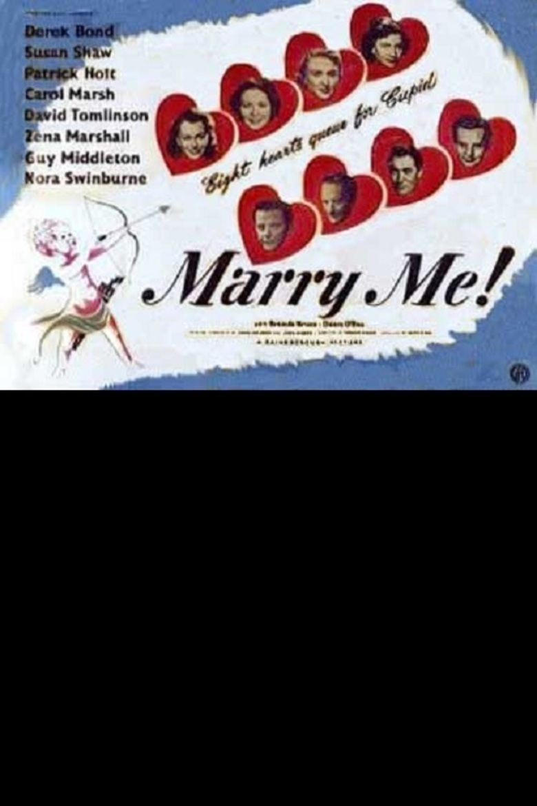 Marry Me! (1949 film) movie poster