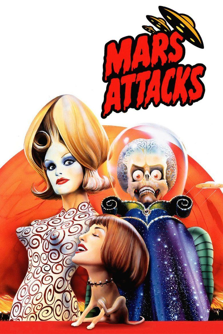 Mars Attacks! movie poster