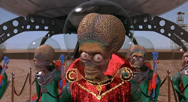 Mars Attacks! movie scenes