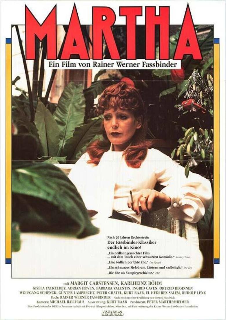 Martha (1974 film) movie poster