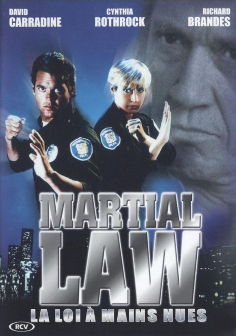 Martial Law (1991 film) movie poster