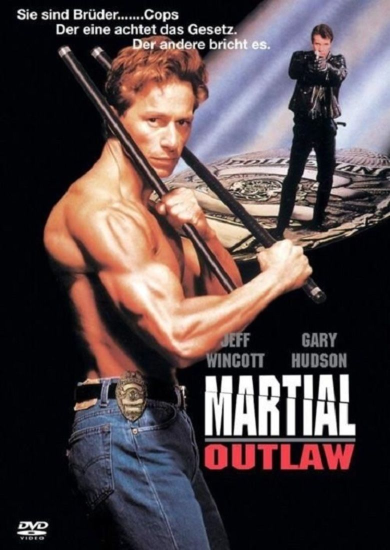 Martial Outlaw movie poster