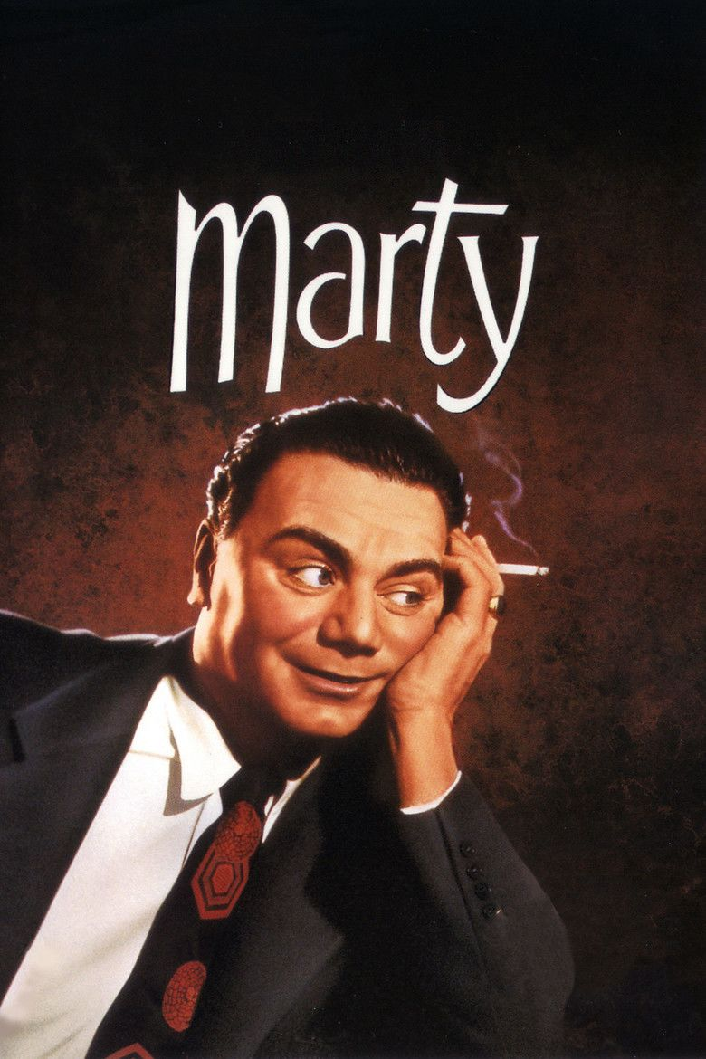 Marty (film) movie poster
