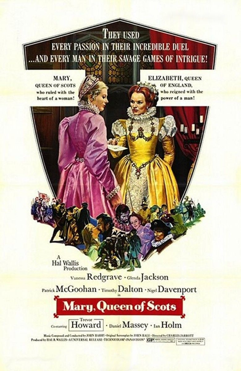 Mary, Queen of Scots (1971 film) movie poster
