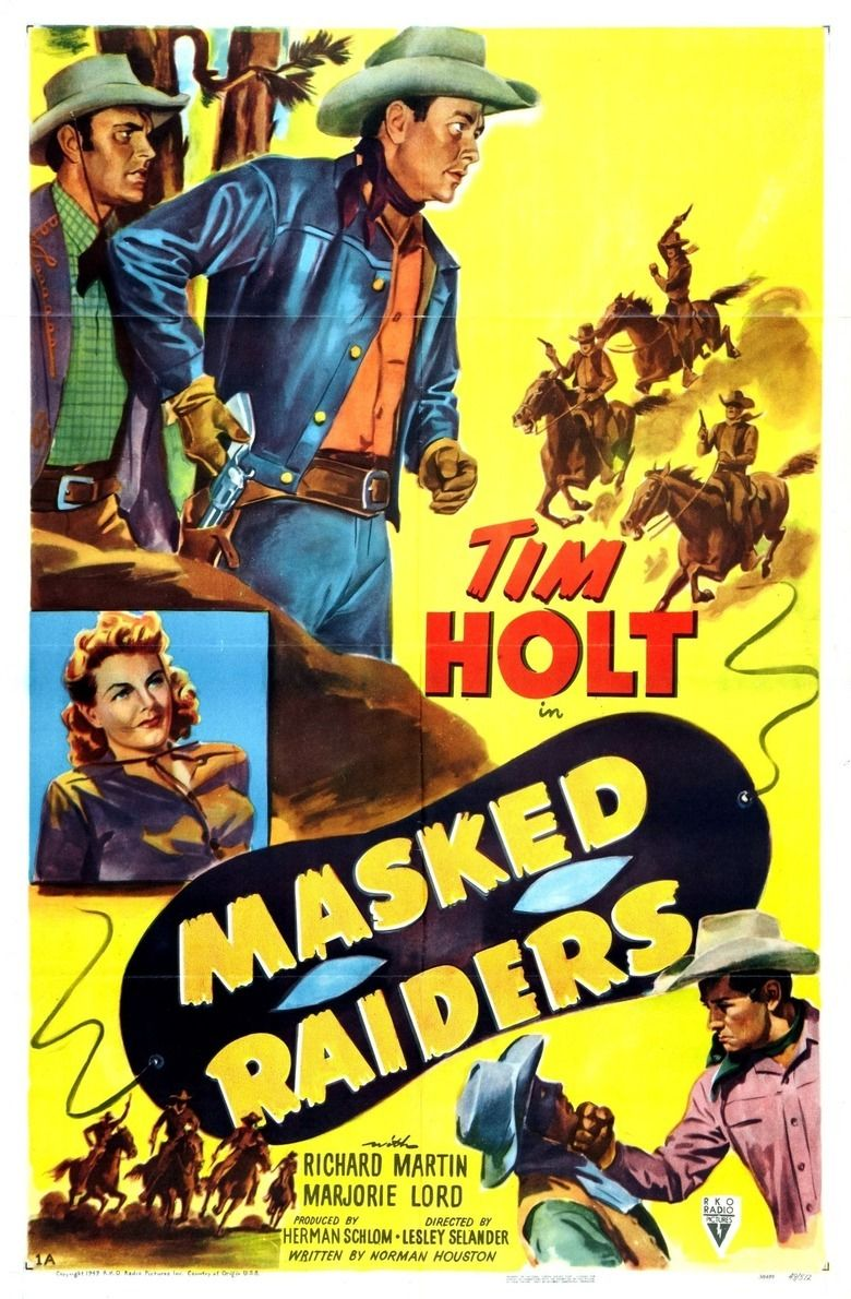Masked Raiders movie poster