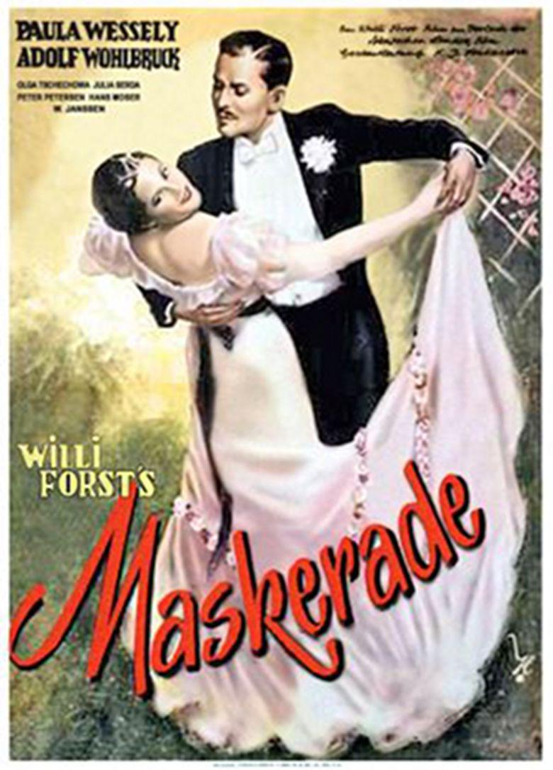 Maskerade (film) movie poster