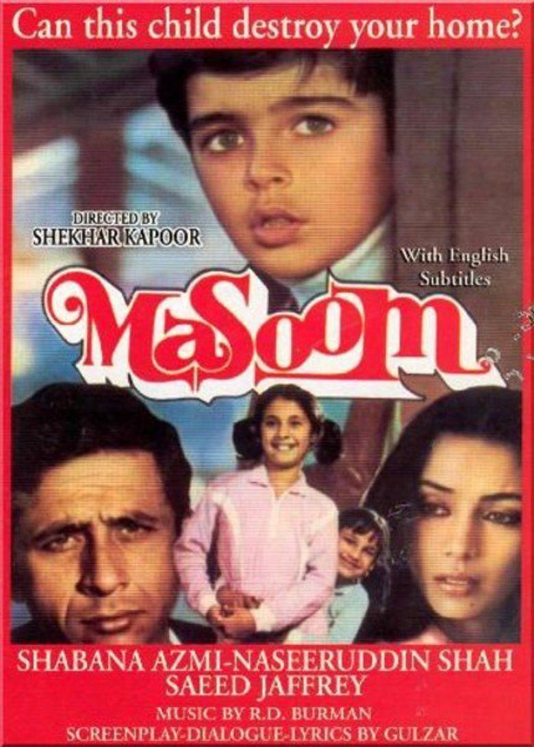 Masoom (1983 film) movie poster