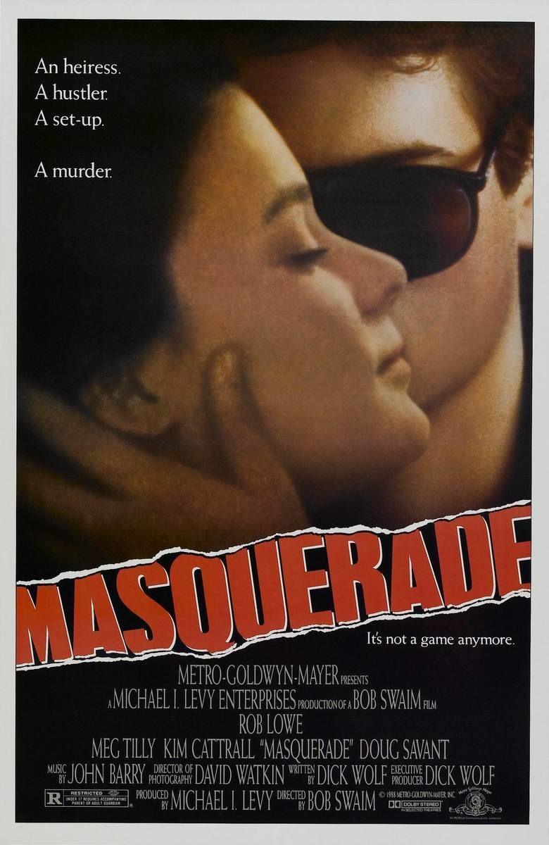 Masquerade (1988 film) movie poster