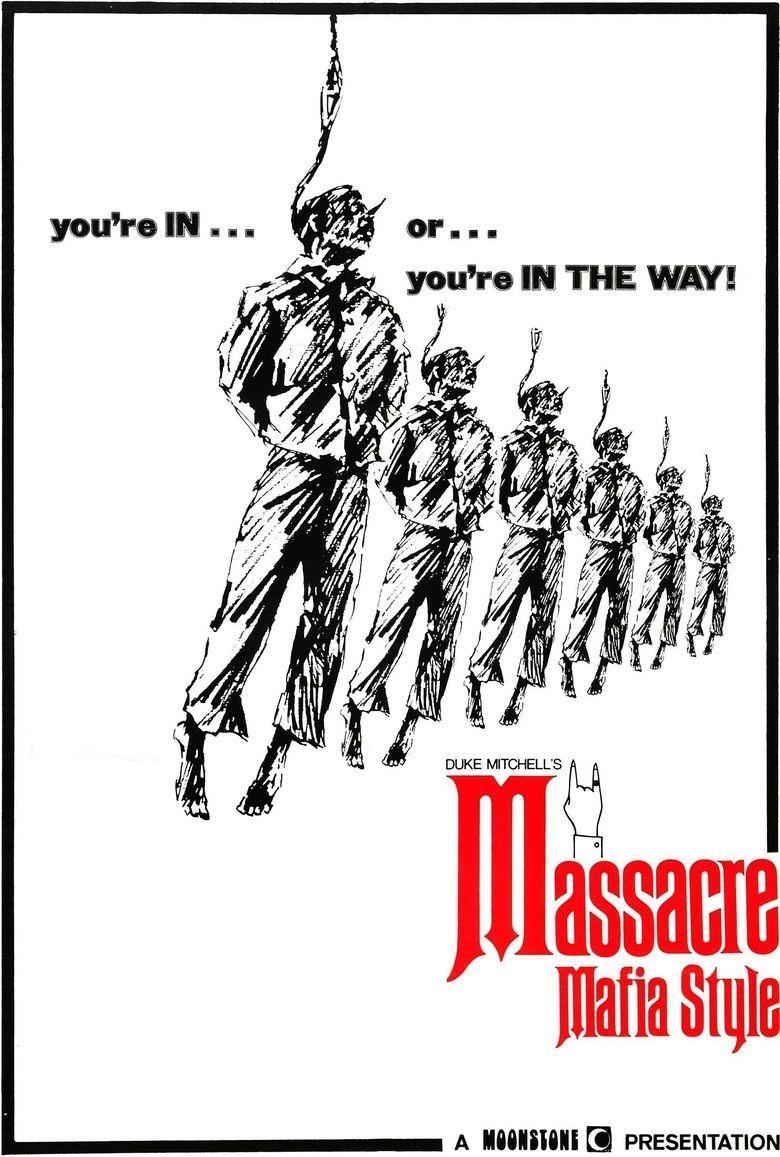 Massacre Mafia Style movie poster