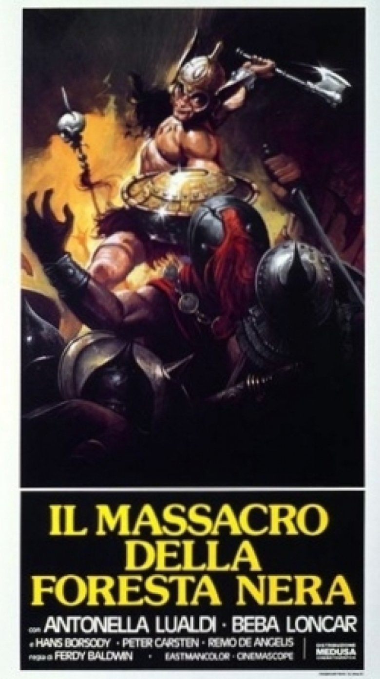 Massacre in the Black Forest movie poster